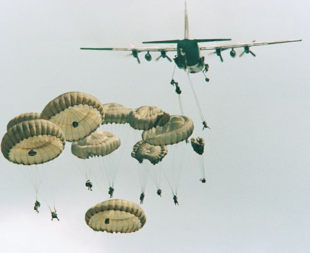 Paras lose their parachutes, Parachute Regiment recruits will not undergo intensive training.  Experienced soldiers will not do annual jumps to stay battle ready
