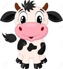 Afbeeldingsresultaat voor koe met kalf cartoon
