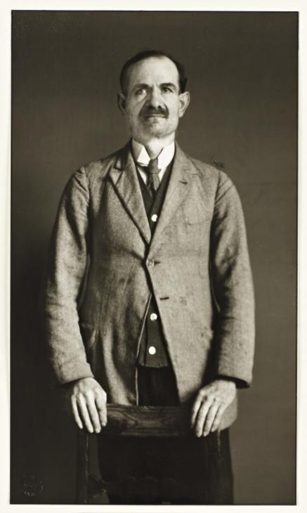 "August Sander, 'Leader of a Splinter Party [Dr. Braun, ""German Federation of Intellectual Innovators""]' 1931, printed 1990"