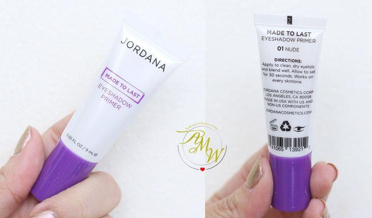 Jordana Made To Last Eyeshadow Primer Review