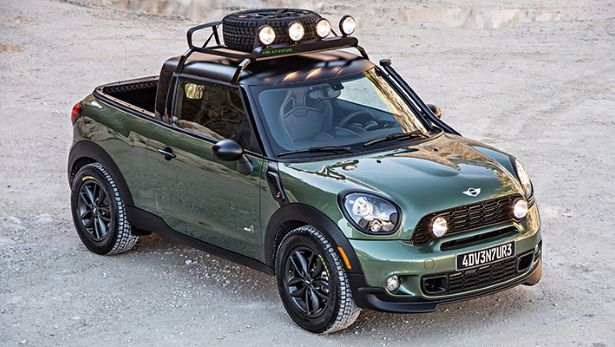 the mini paceman pickup is here top gear. Black Bedroom Furniture Sets. Home Design Ideas