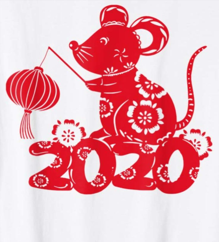 Year of The Rat Chinese Zodiac Happy Lunar New Year 2020 T