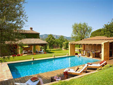 ms de ideas increbles sobre jardines con piscina en pinterest casas con piscina casas con piscinas y diseo de jardn moderno