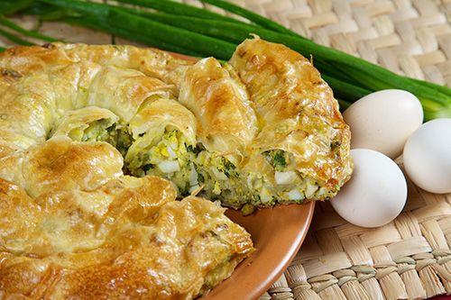 Învîrtită cu ou şi ceapă verde - Paste făinoase şi produse de patiserie
