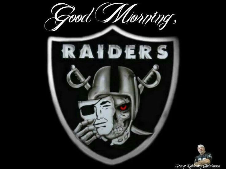 Good Morning Nation :-) | OakLAnd Raiders Quotes and ...  Cool Raiders Logo