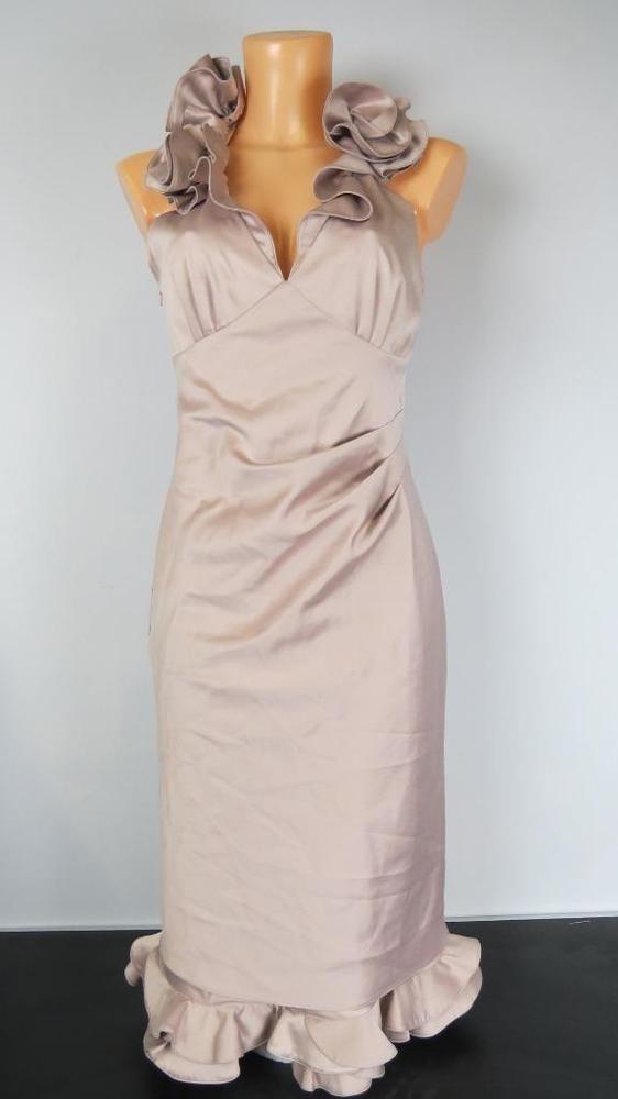 8ae51405137 KAREN MILLEN peach ruffle bodycon dress top quality size UK 10 EU 38 US 6  #fashion #clothing #shoes #accessories #womensclothing #dresses (ebay link)