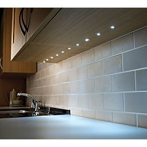 ambient lighting fixtures. LAP Flynn Recessed LED Kit White 15mm Ambient Lighting Fixtures