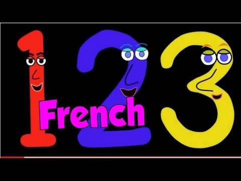 It's a numbers song in French. Une chanson des chiffres pour les enfants.  Written and performed by A.J. Jenkins.