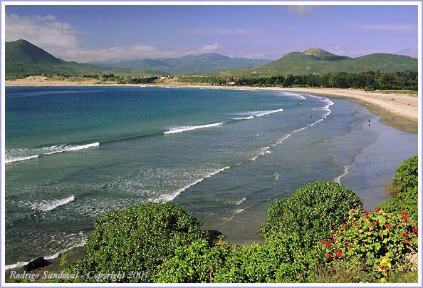 Pichidangui, y su Playa, Chile