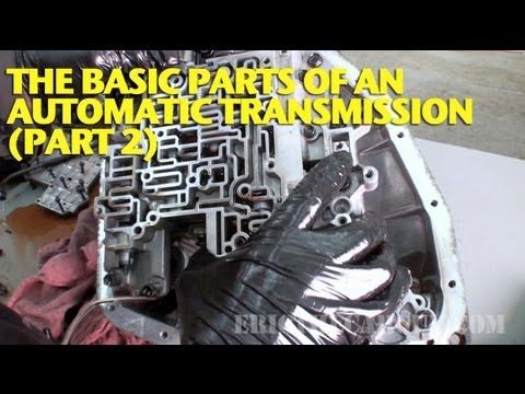 ▶ The Basic Parts of an Automatic Transmission (Part 2) - YouTube