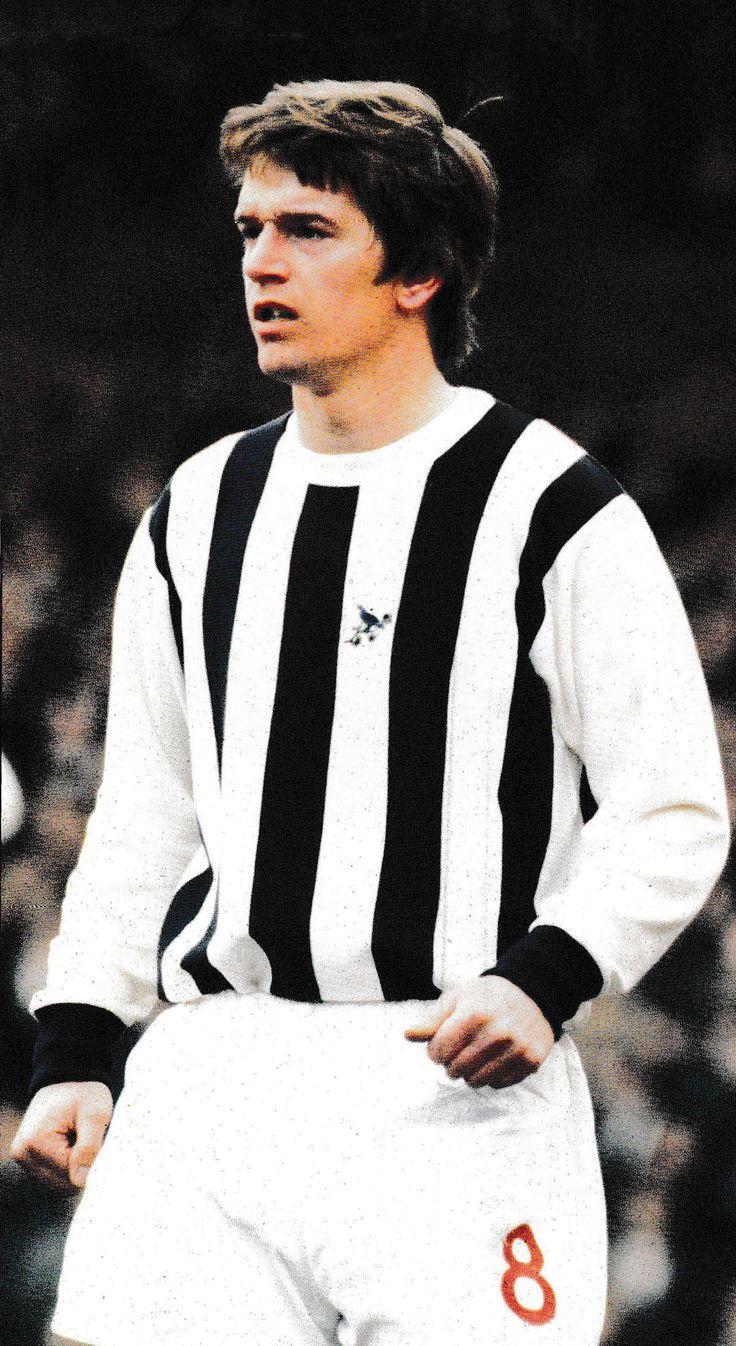 Circa 1969/70. West Bromwich Albion striker Colin Suggett.