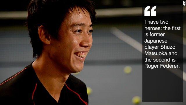 CNN.co.jp : トッププレーヤー錦織圭、重圧への対処とテニスへの愛を語る - (3/3)