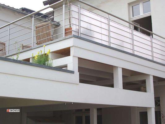 Balkon Carports Mit Terrasse Carports Holz Stahl Alu In 2020 Carport Holz Balkon Bausatz Carports