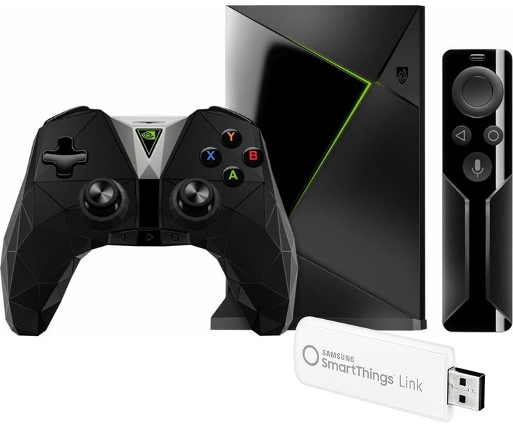 Samsung - SmartThings Link for Nvidia Shield and Nvidia Shield TV 16GB Streaming Media Player