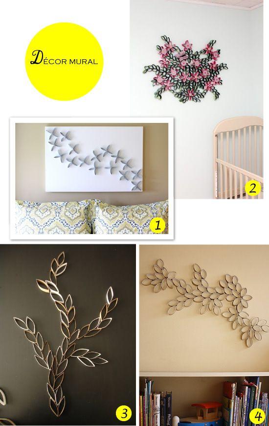Geniale selection de Plumetis Magazine  http://www.mespetitesmainsmagazine.net/2012/04/18/latelier-du-mercredi-avec-des-rouleaux-de-papier-toilette