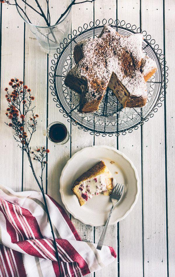 Italian Pandoro (cake filled with ice cream) | Souvlaki For The Soul