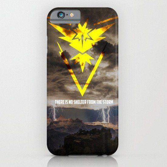 Team Instinct - Pokemon Go iphone case, smartphone