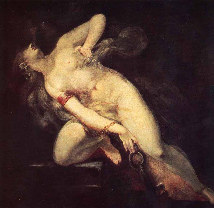 Il peccato inseguito dalla morte, 1795, olio su tela, Künsthaus, Zurigo