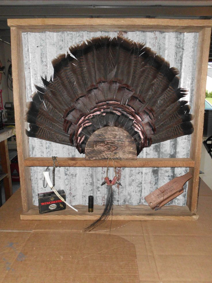 Shadow Box Custom Orders In 2019 Turkey Mounts Turkey