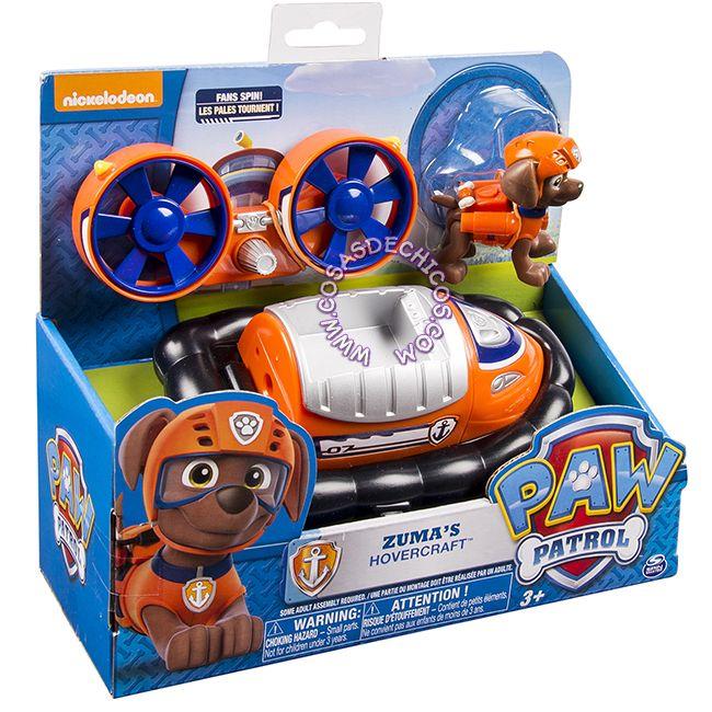 #PawPatrol #Figura con #Vehiculo Grande #Zuma#Figure #PatrullaCanina #NickJr #Nickelodeon #Original #CosasDeChicos #Dogs #Perros #Toys #Kids #Truck #Orange