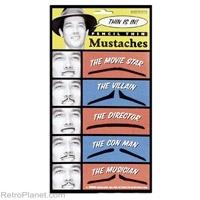 Fake Pencil Mustaches Kit  http://www.retroplanet.com/PROD/29436
