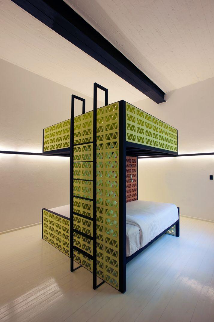 65 besten interior hotel jugendherberge bilder auf pinterest schlafzimmer ideen wohnheim und. Black Bedroom Furniture Sets. Home Design Ideas
