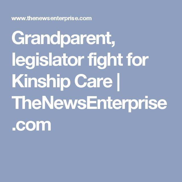 Grandparent, legislator fight for Kinship Care | TheNewsEnterprise.com
