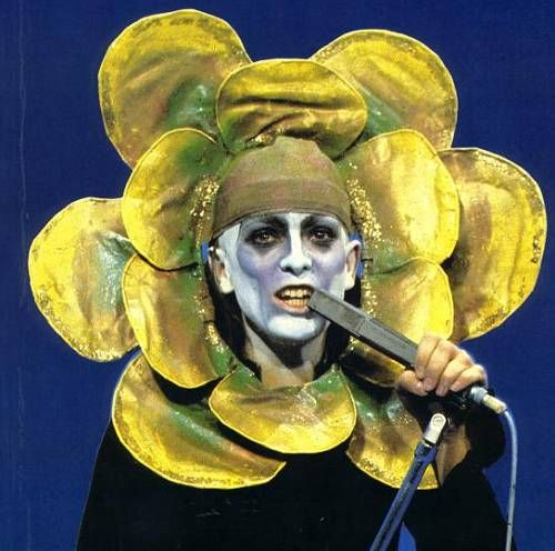 """Peter Gabriel - Genesis era - """"A flower?..."""""""