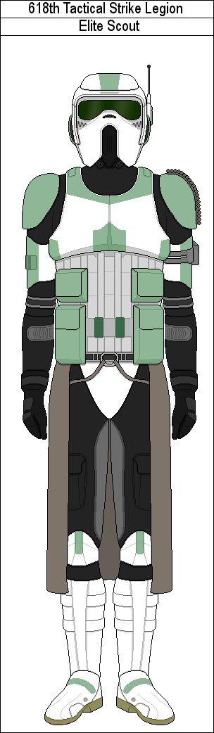 618th Legion Elite Scout by MarcusStarkiller