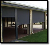 Heavy Duty (HD) Channel Blinds  Outdoor Shade Blinds Perth Australia Bozzy Shade Blinds