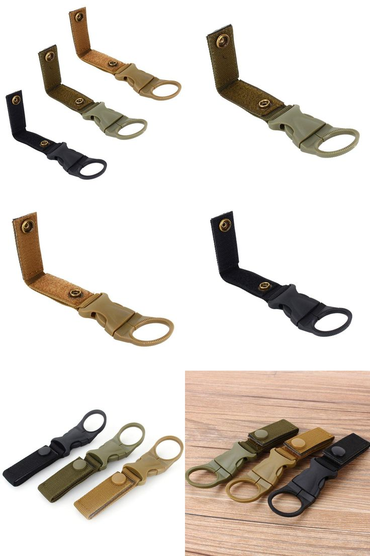[Visit to Buy] outdoor camping tactical backpack Nylon ribbon small Hooks to the multi-function mountaineering buckle #Advertisement