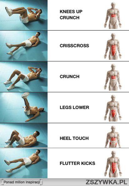 cwiczenia na brzuch - Szukaj w Google