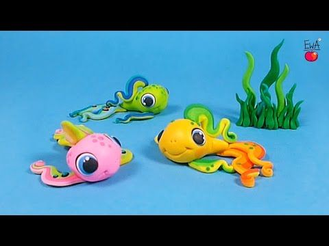 Clay Rainbow fish youtube tutorial