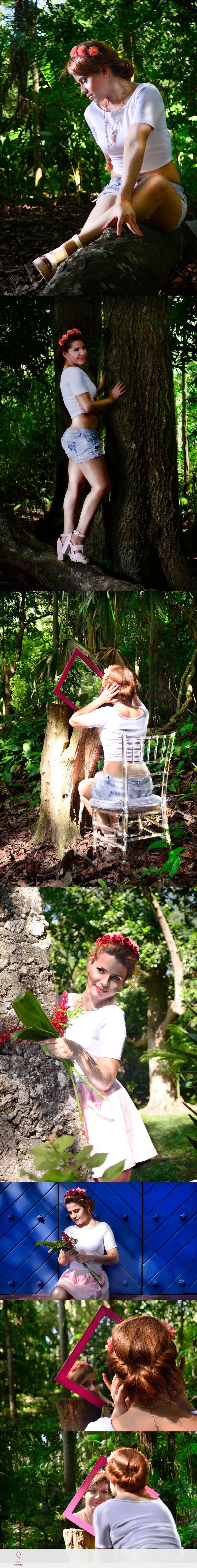 Mujer del Bosque on Behance. Todos los derechos reservados a GALEROME #galerome #fotografia #photographyc #diseñograico #graphycdesign #designer #artist