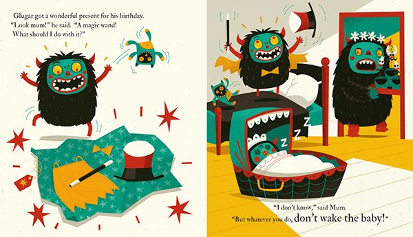 Don't Wake the Baby on Behance