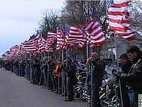 The Patriot Guard - Protecting military funerals.