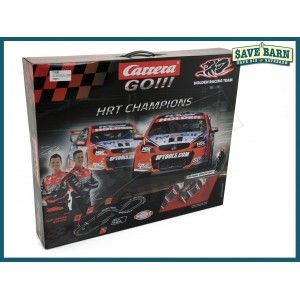 HRT Champions Electric Slot Car Australian V8's Racing Set CARRERA GO! #Shoproads #onlineshopping #Remote Control Toys