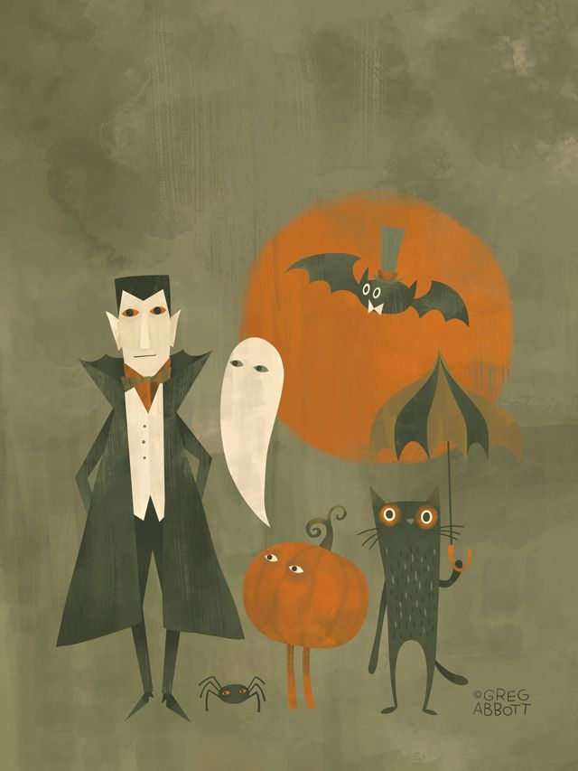 Halloween Portrait  (by Greg Abbott)