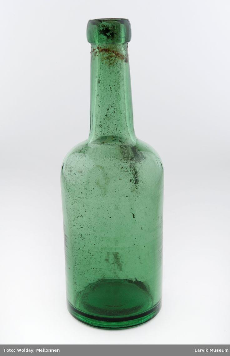 Flaske @ DigitaltMuseum.no