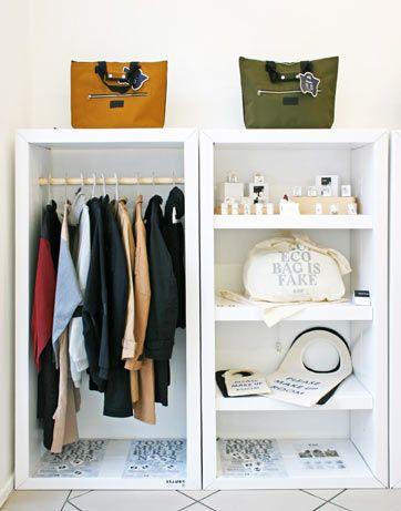 Store Furniture For Shops Made Of Cardboard Stange Design