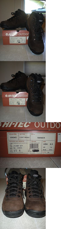 Mens 181392: Hi-Tec Men S Rainier Waterproof Mid Hiking Boot Size 8.5 -> BUY IT NOW ONLY: $35 on eBay!