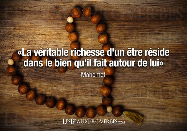Les Beaux Proverbes – Proverbes, citations et pensées positives » » La véritable richesse