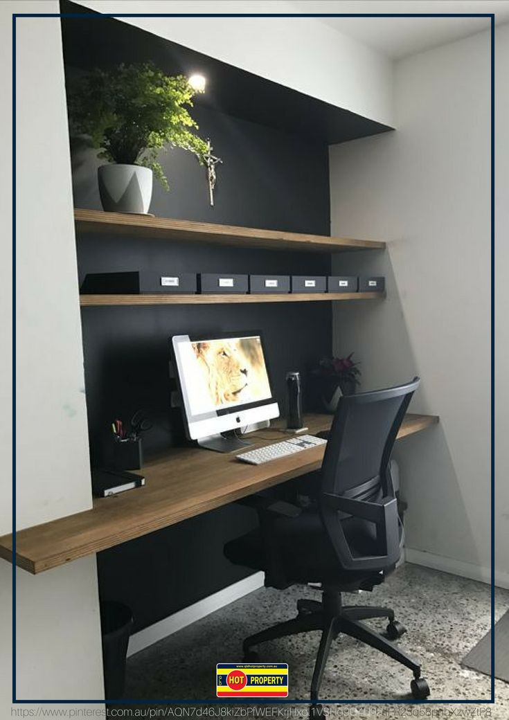 A home office with style and practicality.