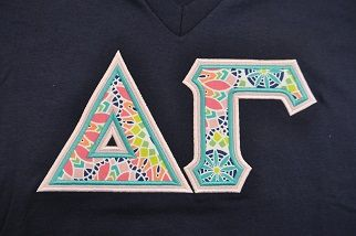 Ready to Ship Greek Letter Shirt