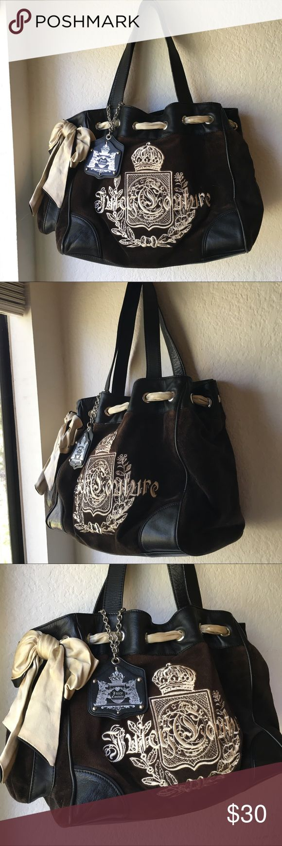 Juicy Couture Black Purse Black Juicy Couture Purse. Slightly used but in good condition Bird by Juicy Couture Bags Totes