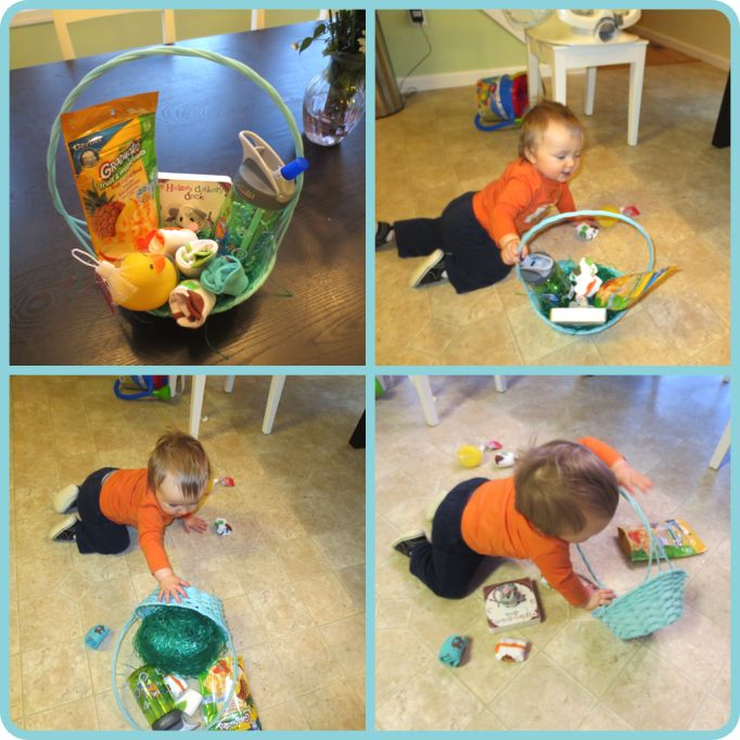 47 best easter basket ideas images on pinterest baby toddler happy easter negle Gallery