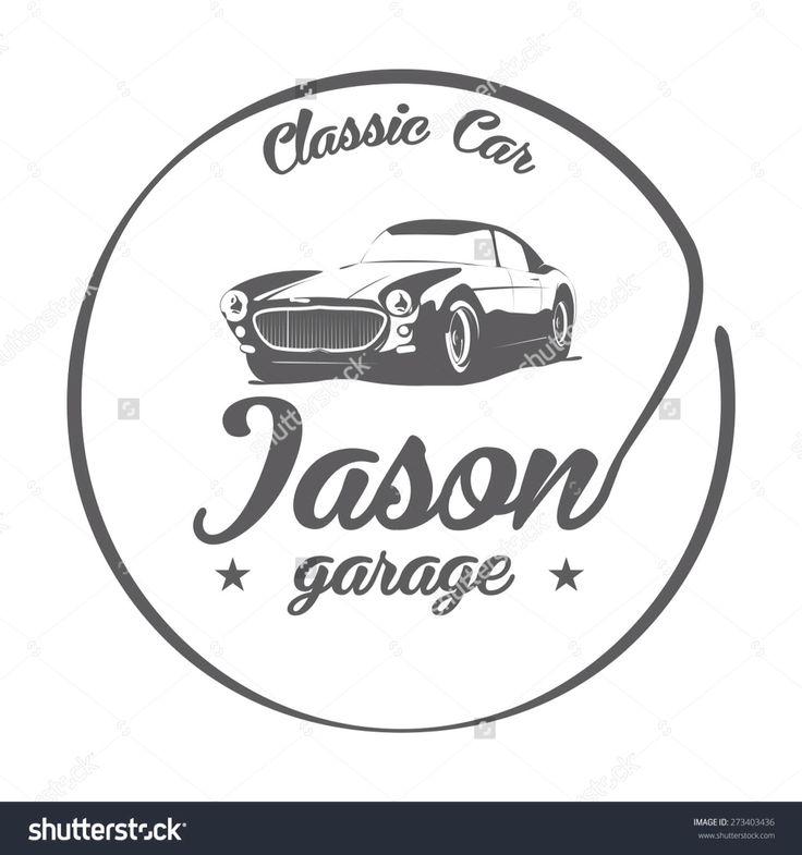 Jason garage logo | Логотипы | Pinterest | Logos
