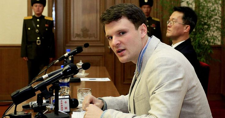 North Korea just sentenced an American student to 15 years of hard labor for trying to steal a sign