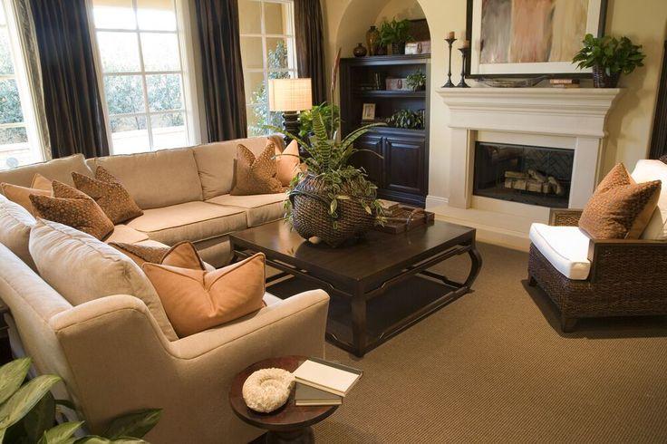 46 swanky living room design ideas dark wood furniture for Cozy living room furniture ideas