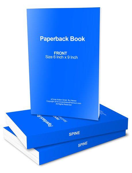 Paperback Book Mockup by Hazran Hamzah at Coroflot.com